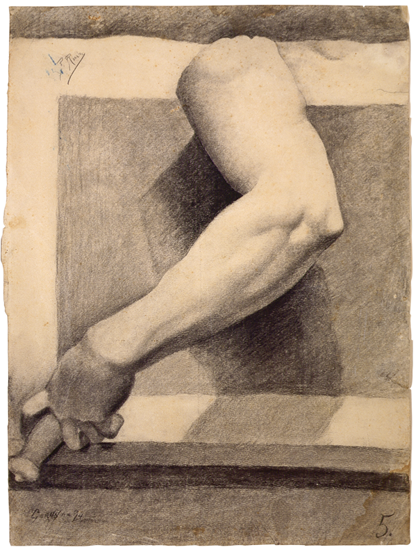 Пабло Пикассо. Академический этюд. Рука
