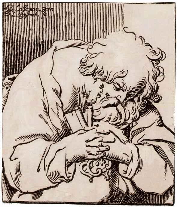 Жорж Лаллеман. Кающийся Святой Пётр