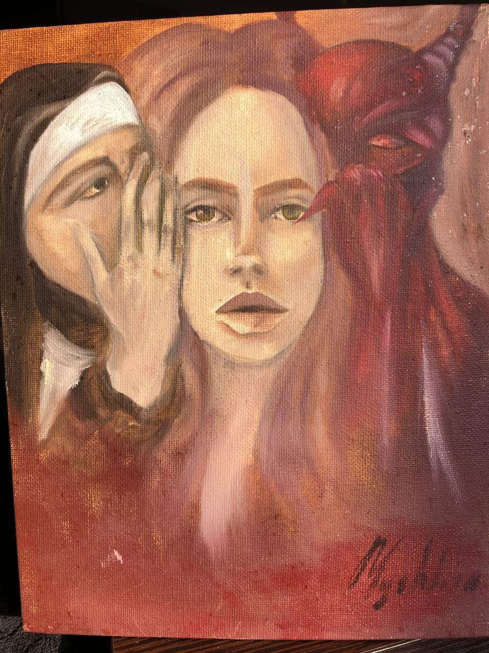 Lily Myshkina. Nuns against the devil inside my boss