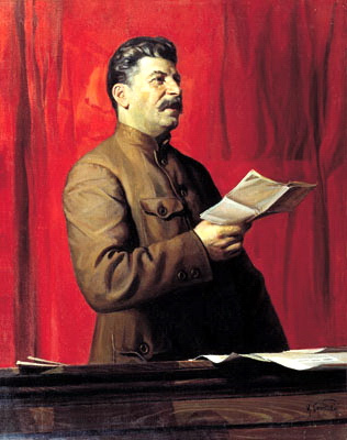 Stalin Portraits. Stalin