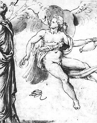 School Giulio Romano. The Abduction Of Ganymede