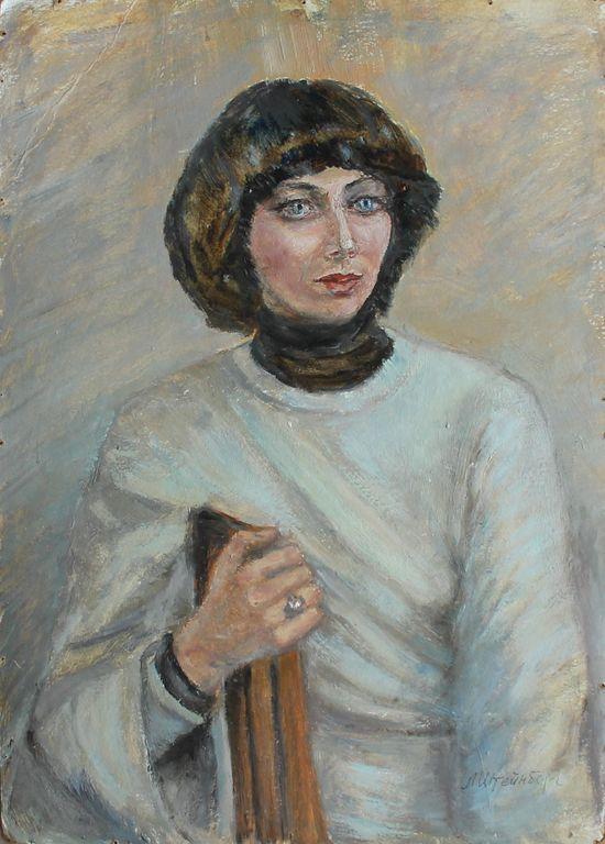 Elizaveta Grigorievna Steinberg. Portrait of an architect