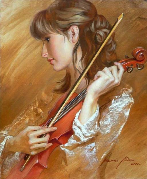 Андрей Маркин. Красная скрипка