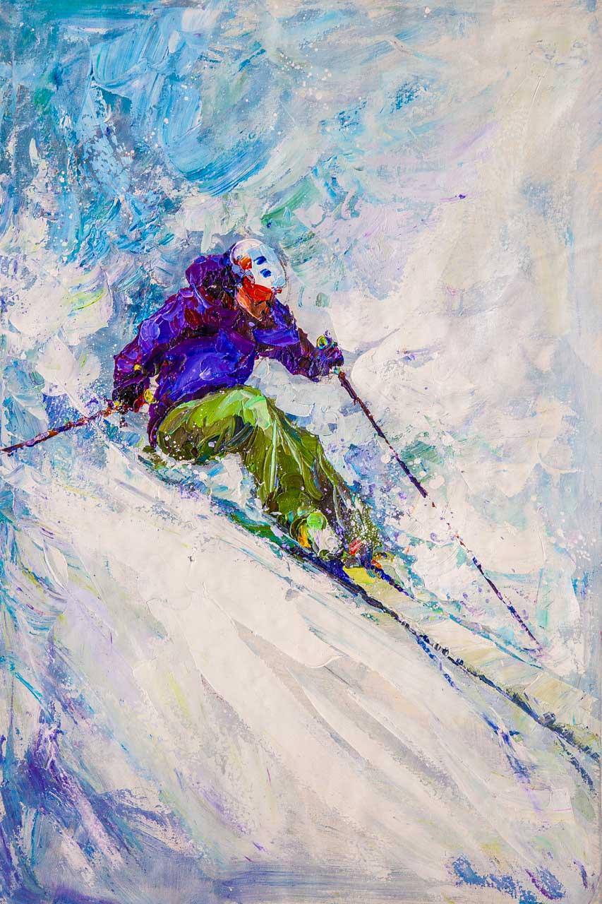 Jose Rodriguez. Горные лыжи N4