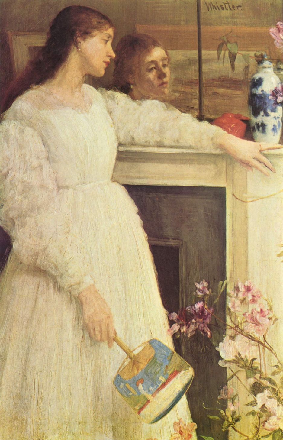 James Abbot McNeill Whistler. Symphony in white No. 2. Girl in white