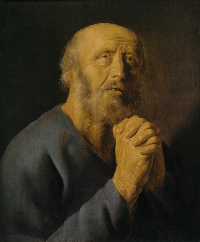 Jan Lievens. Saint Peter in penitence