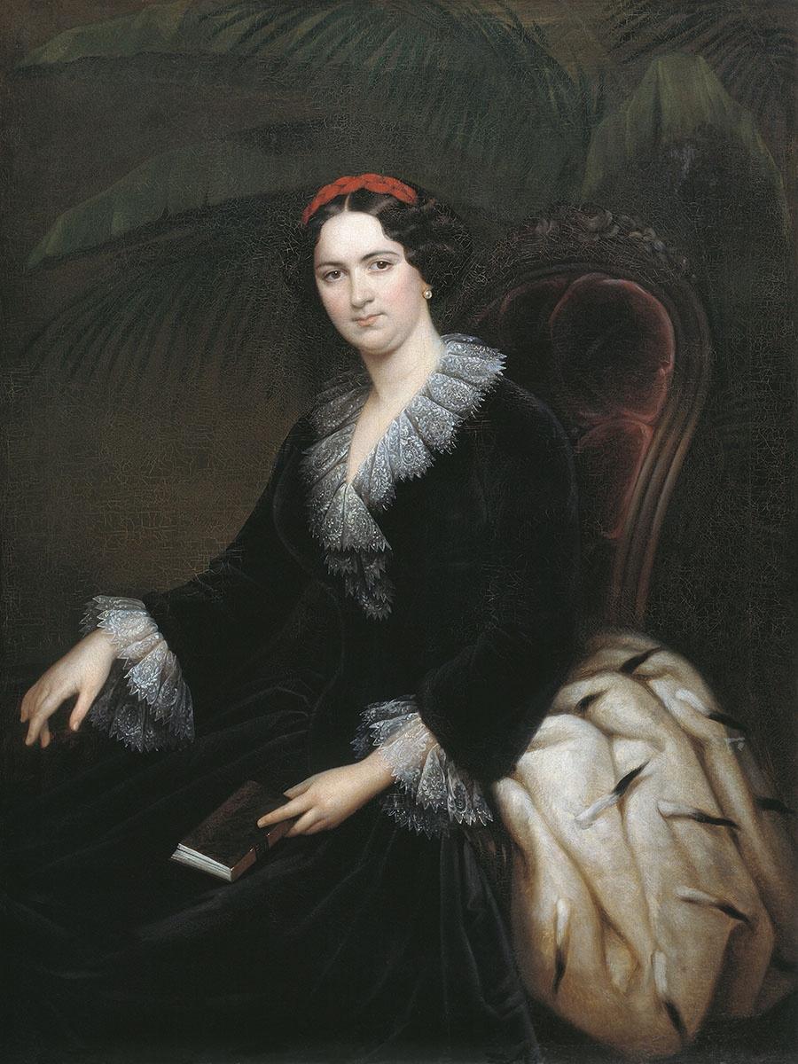 Sergey Konstantinovich Zaryanka. Portrait of the Most High Princess Anna Alekseevna Gruzinskaya