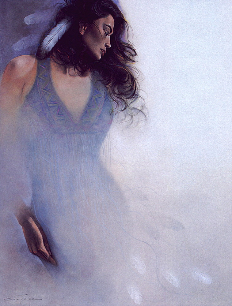Franca Ozz. Blue Navajo