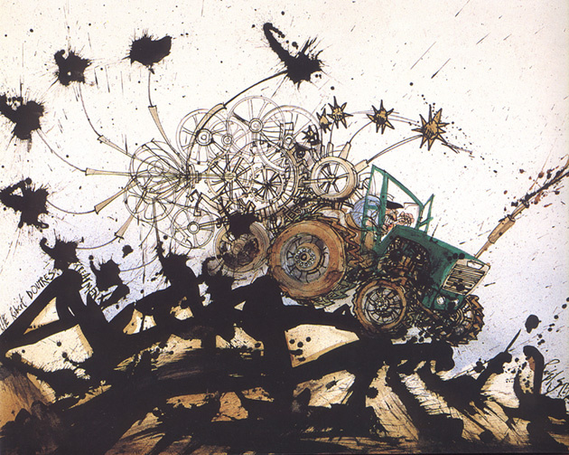 Ральф Стедман. Трактор