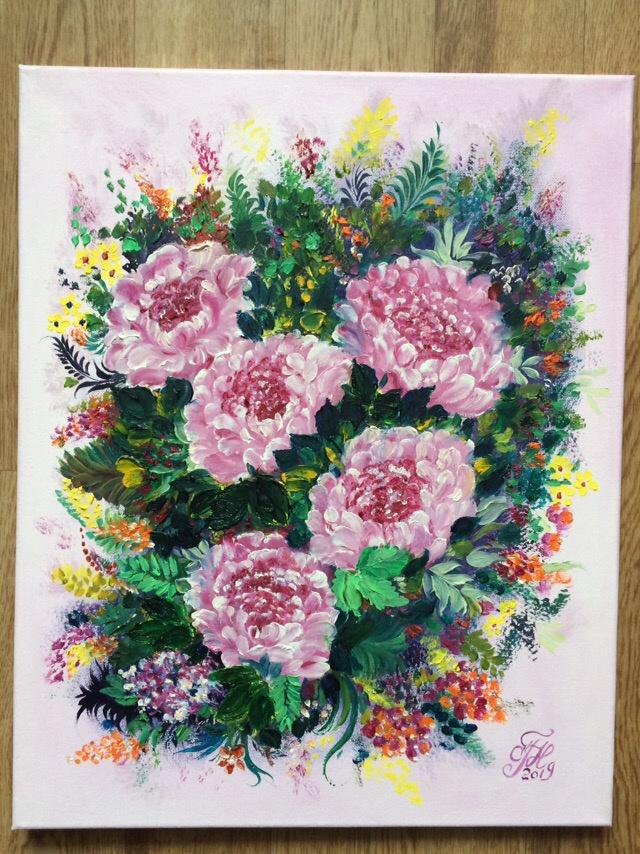 Galina Nikolaevna Silina. FLOWER OF LOVE