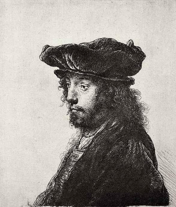 Рембрандт Ван Рейн. Портрет восточного человека