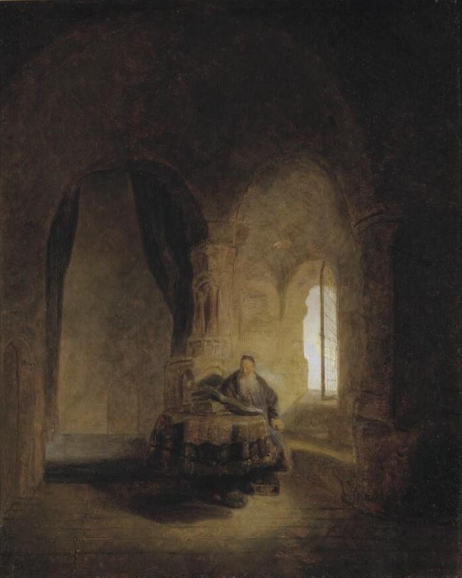 Rembrandt Harmenszoon van Rijn. Holy Anastas