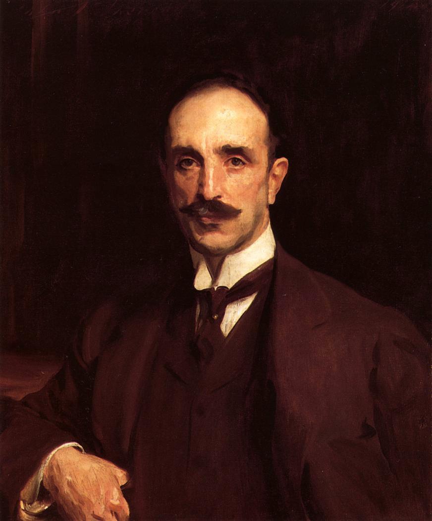 John Singer Sargent. Portrait Of Douglas Vickers