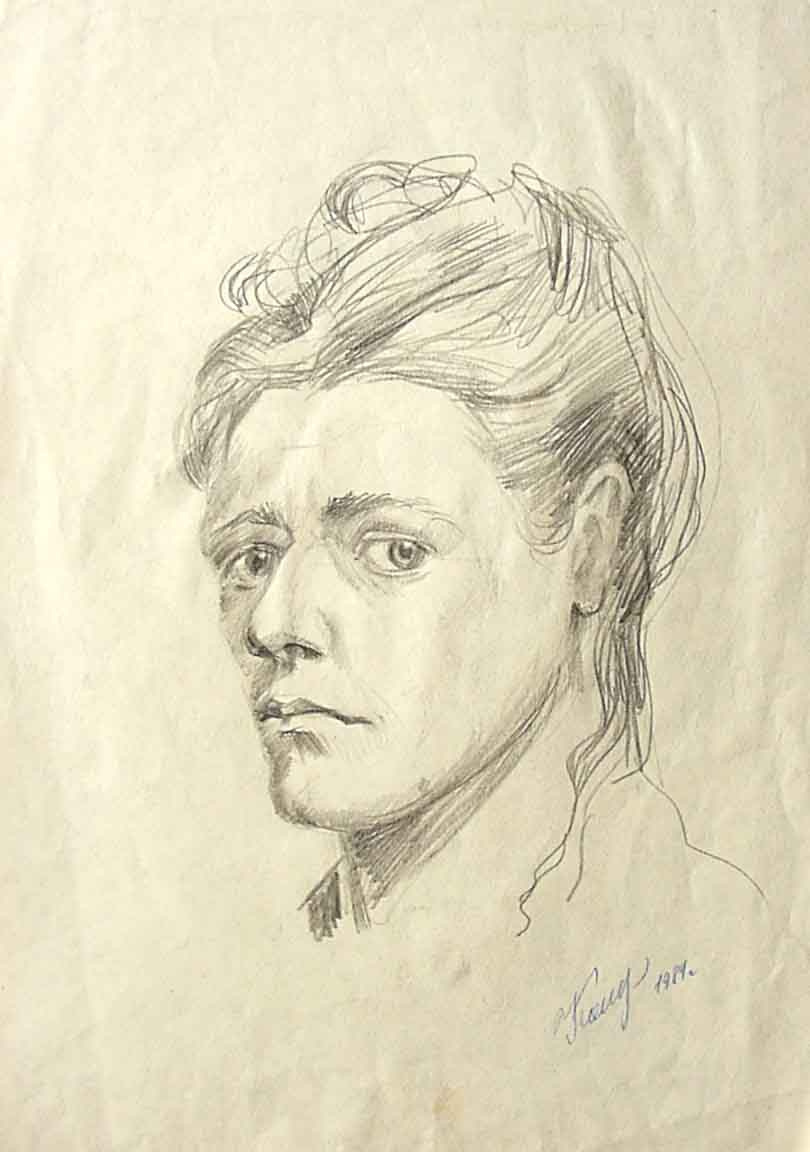 Tamara Kolesnichenko Tamara. Self-portrait