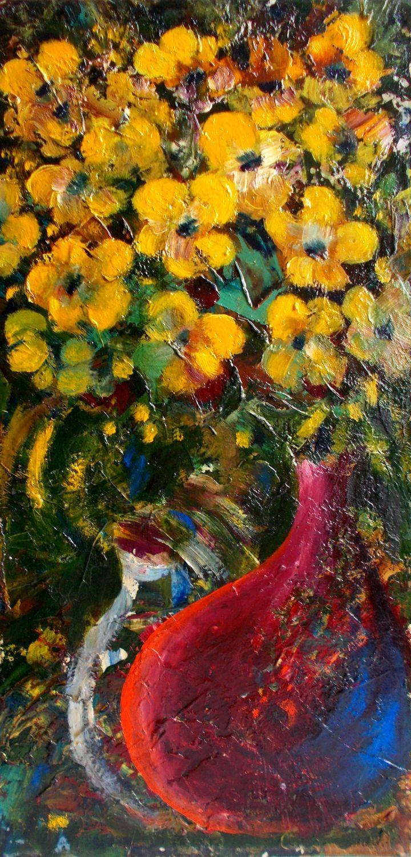 Vladimir Abaimov. Yellow flowers