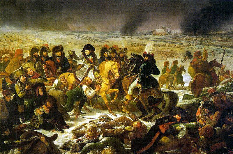 Барона Антуана-Жан-Жан-Жан - Жан Грос. Поле боя