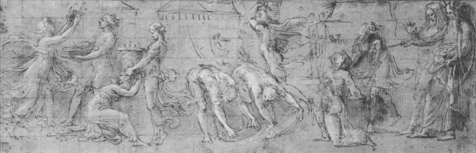 Джованни Франческо Пенни. Сбор манны