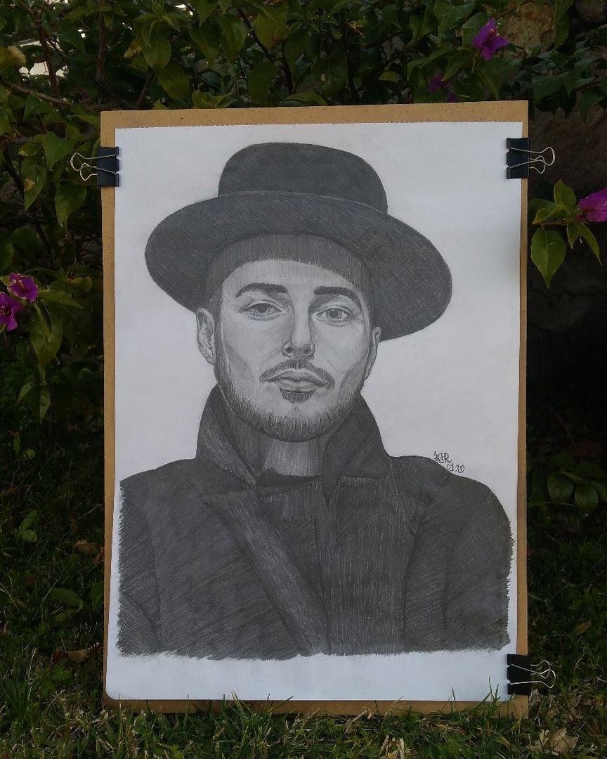 Ruzilia Iusupova. Portrait of A. Antonov