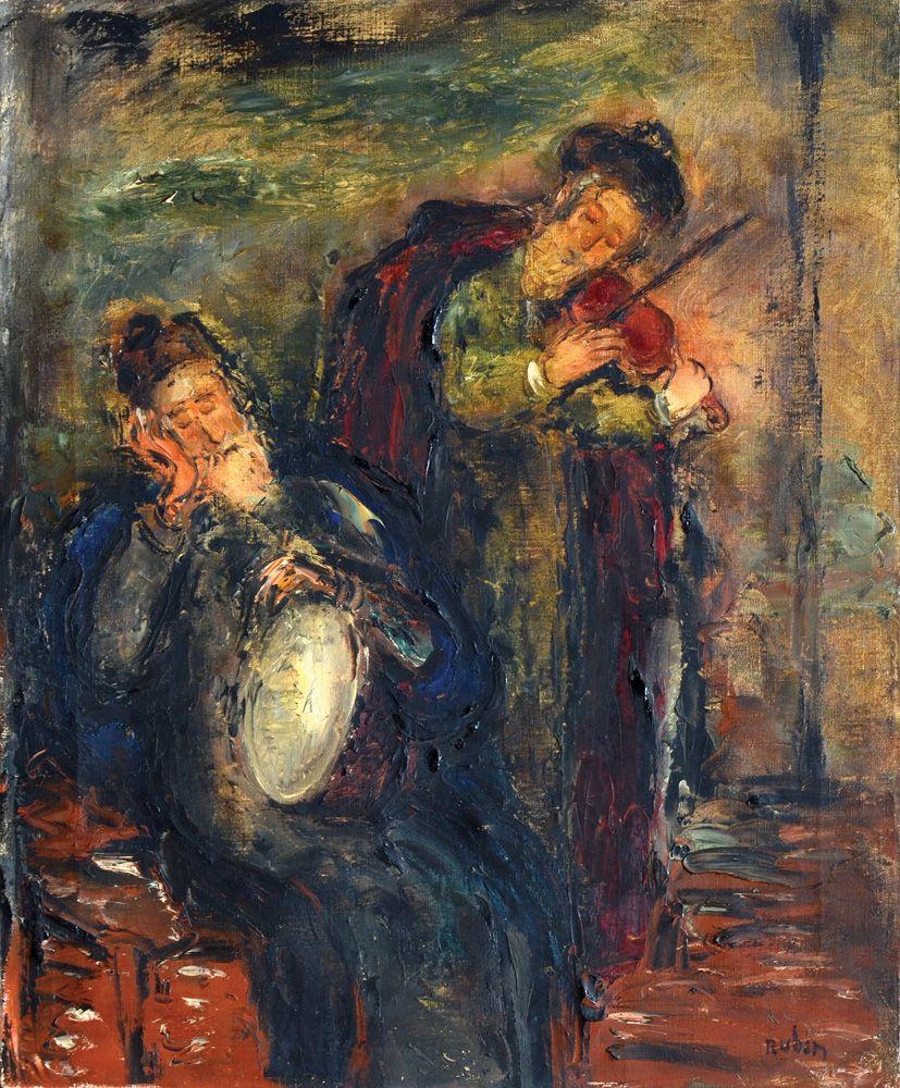 Reuven Rubin. Musicians