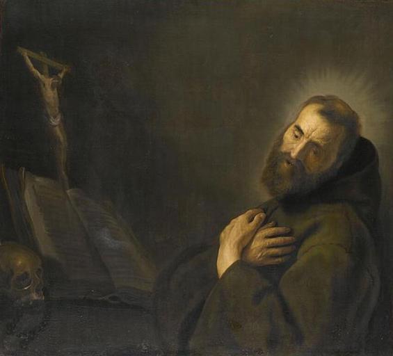Ян Ливенс. Святой Франциск