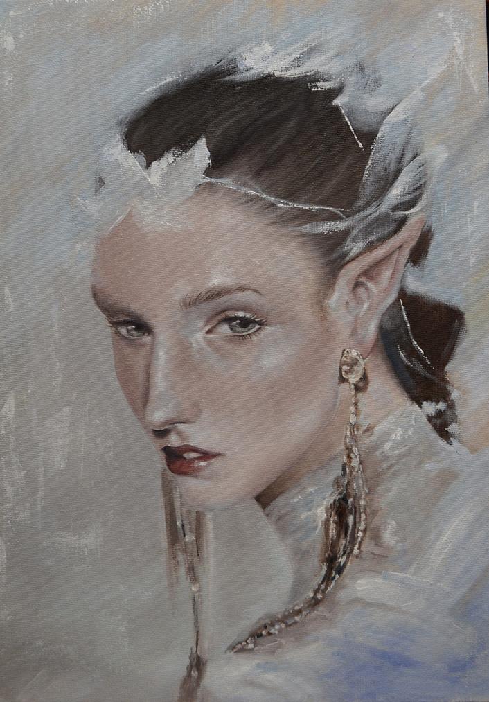 An ka. Elf portrait