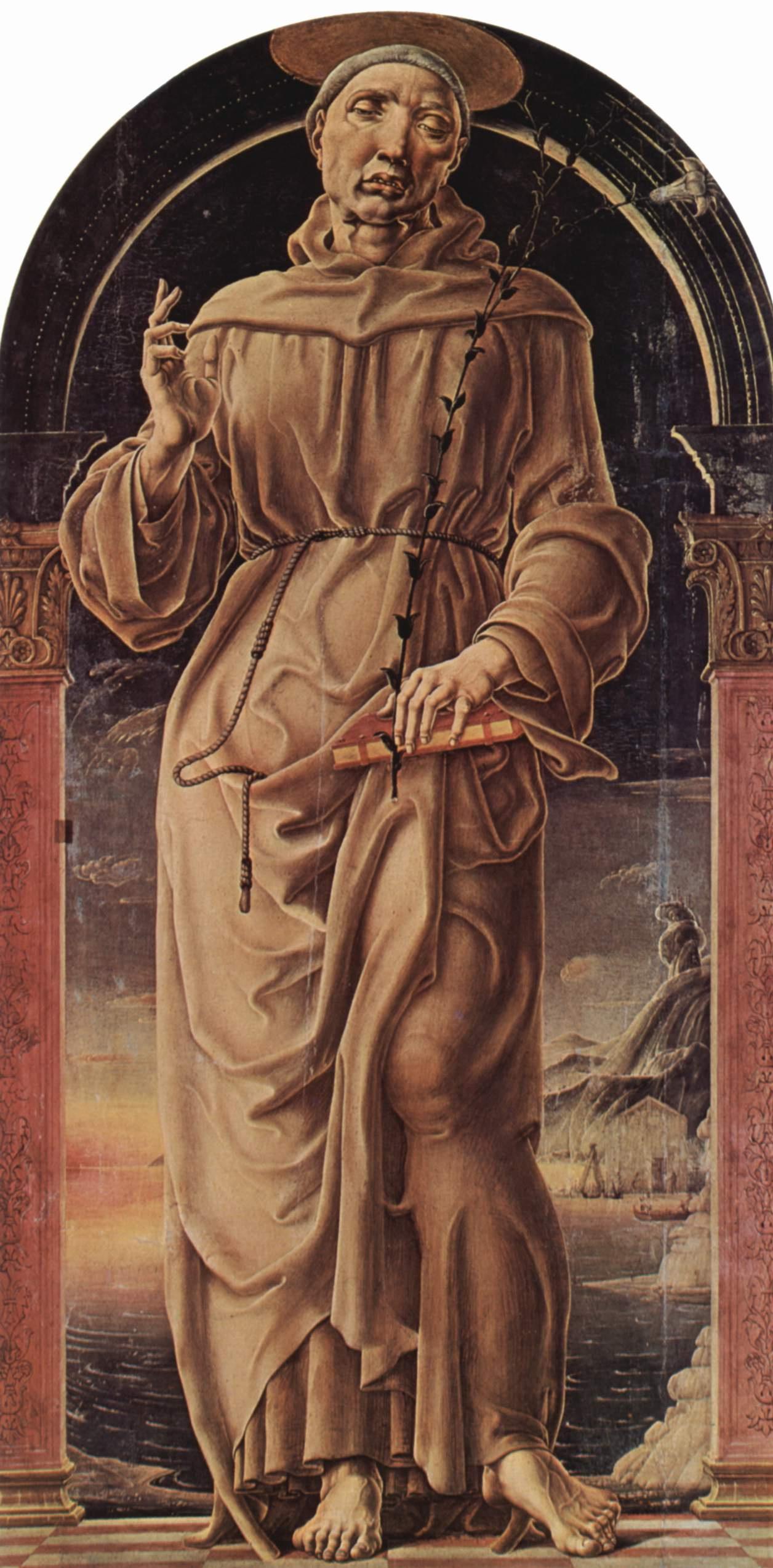 Cosimo Tour. SV. Anthony Of Padua