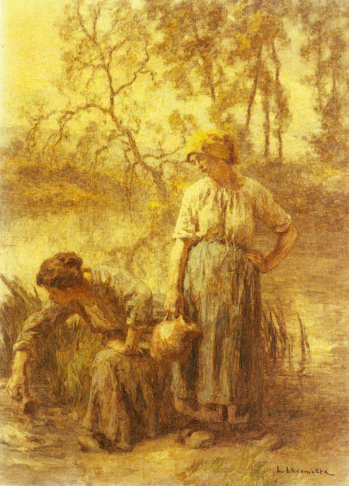 Leon Augustin Lermitt. Carafe for water