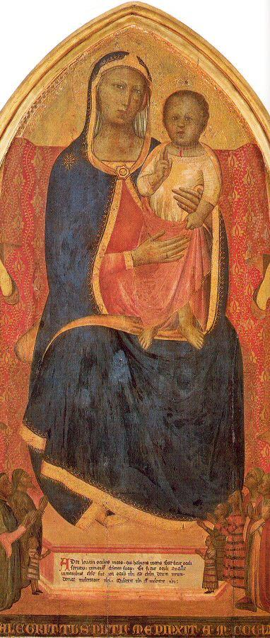 Аллегретто Нузи. Богородица