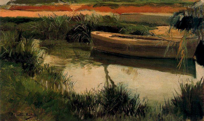 Хоакин Соролья (Соройя). Лодка в Альбуфера