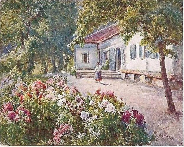 Mikhail Andreevich Bercos. Summer. Kharkiv.