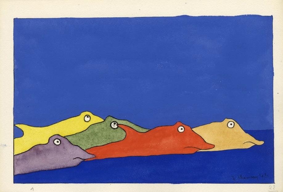 Leopold Chauot. Monstrous landscape number 22