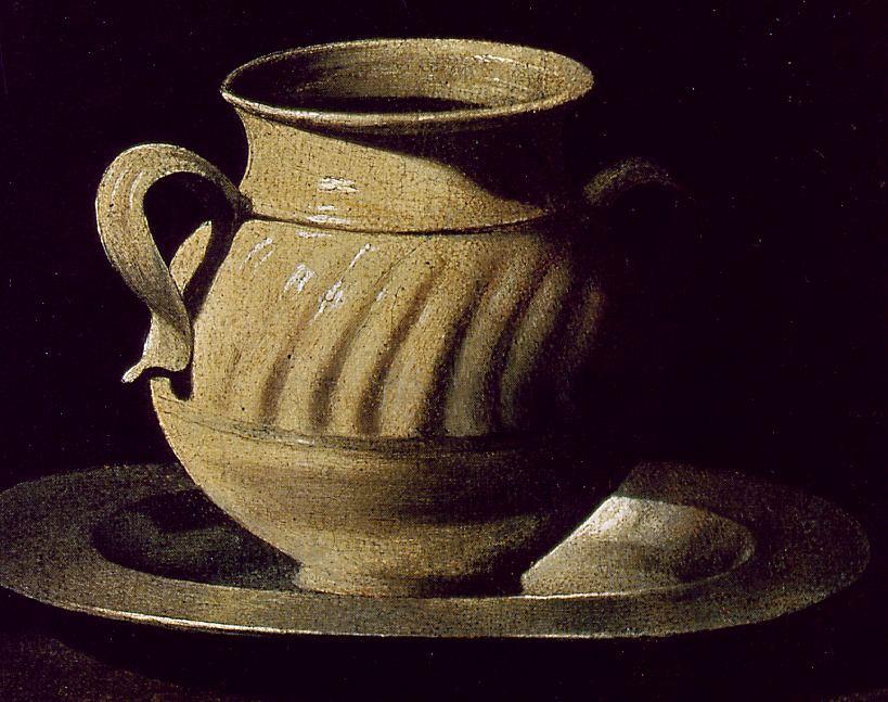 Франсиско де Сурбаран. Натюрморт с керамикой