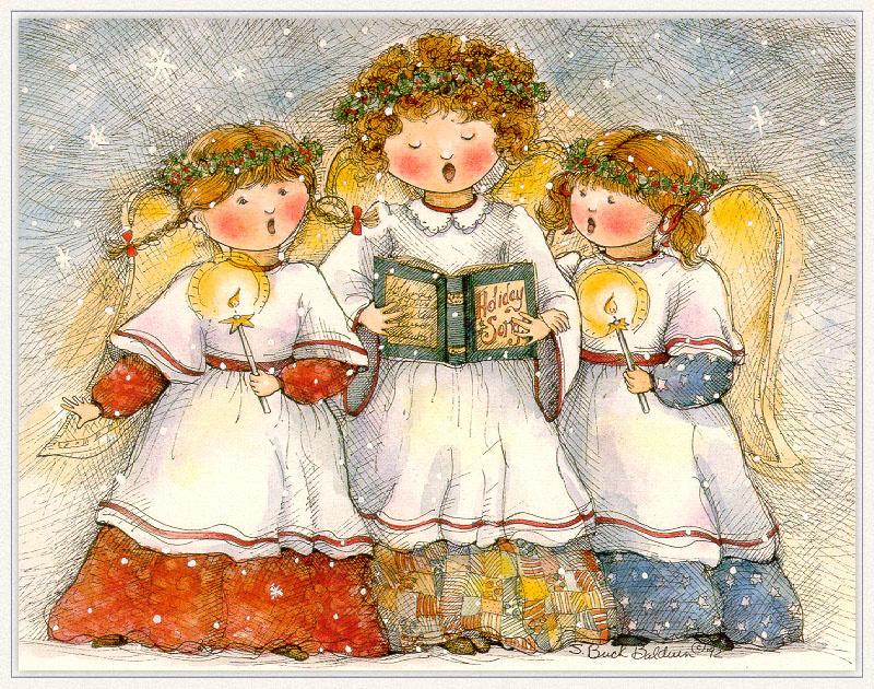Ангелы поют открытки, открытки