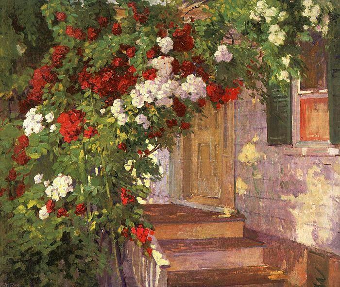 Бесси Х. Вессель. Лестница в сад