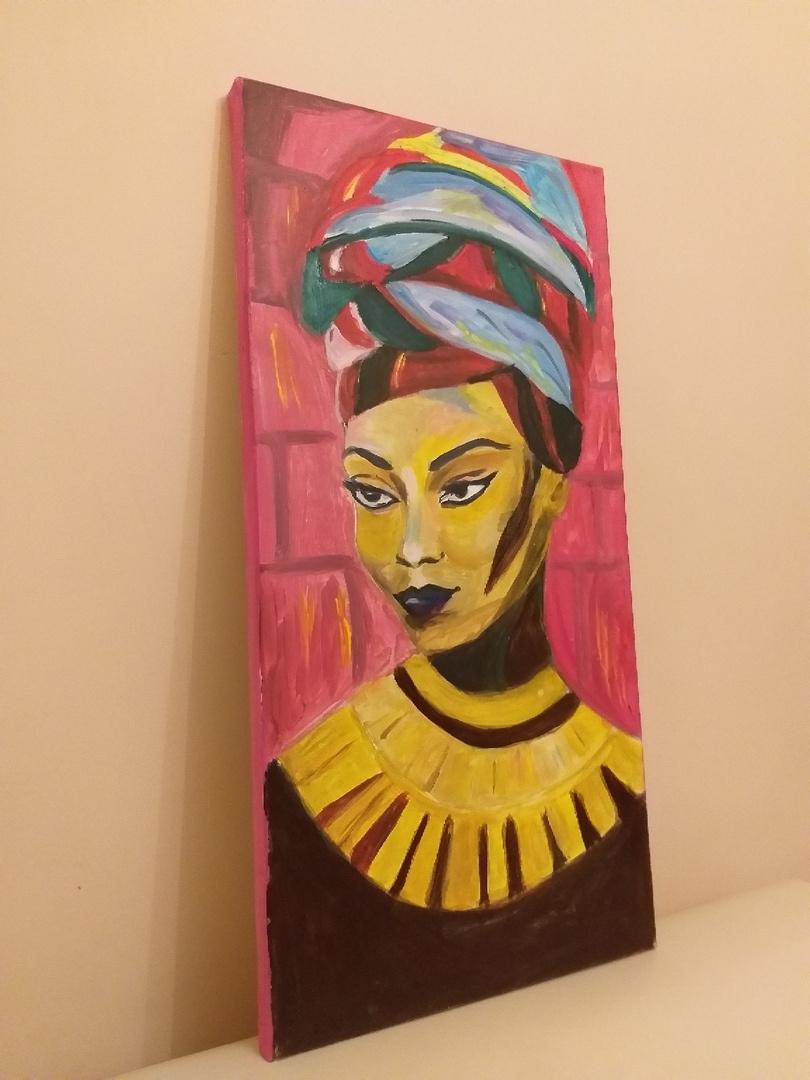 Aida Ziyaddinovna Kurbanova. African 1