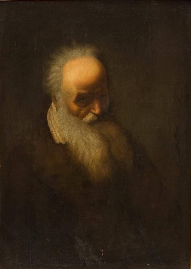 Jan Lievens. Portrait of an elderly man