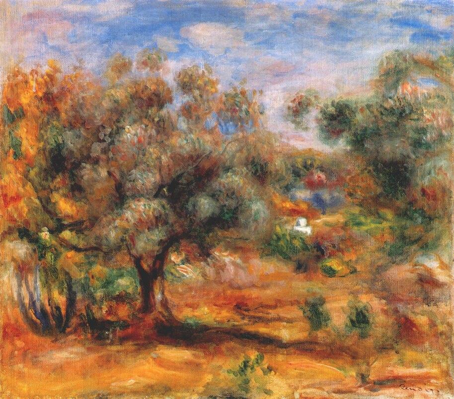 Pierre-Auguste Renoir. Landscape