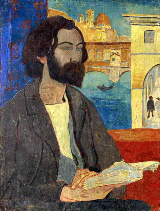 Paul Sérusier. Portrait of Bernard in Florence