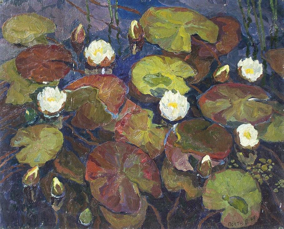 Boris Anatolyevich Postnikov. Lilies