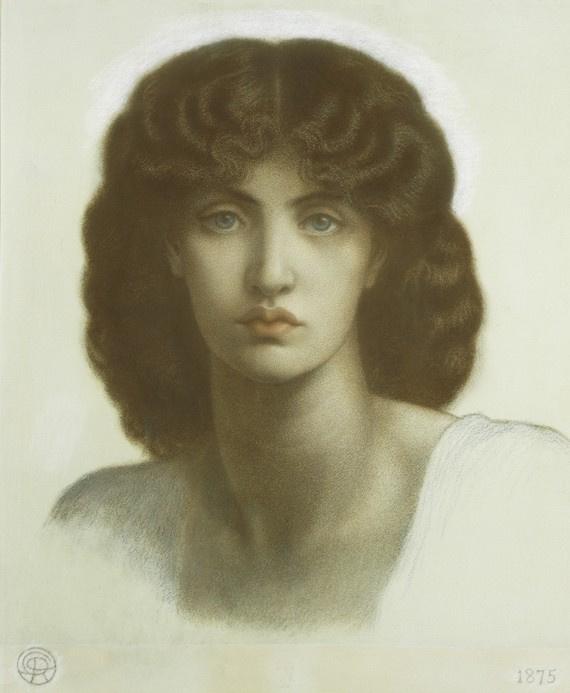 Данте Габриэль Россетти. Астарта Сирийская (Портрет Джейн Моррис)