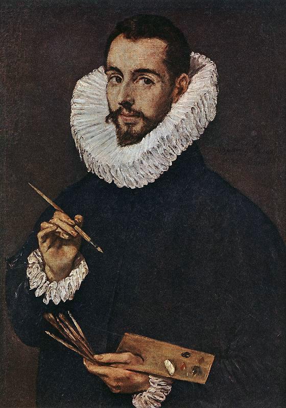 Domenico Theotokopoulos (El Greco). Portrait of the artist's son, Jorge Manuel Theotokopoulos