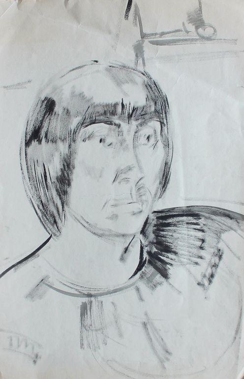 Alexandra Onufrievna Followed. Portrait