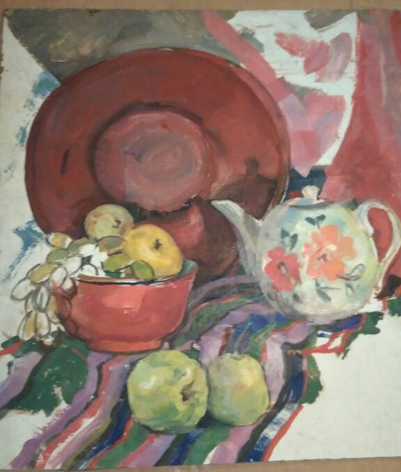 Валерий Викторович Подгурский 1921 - 1990г. Восточный натюрморт