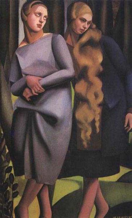 Tamara Lempicka. Dream women