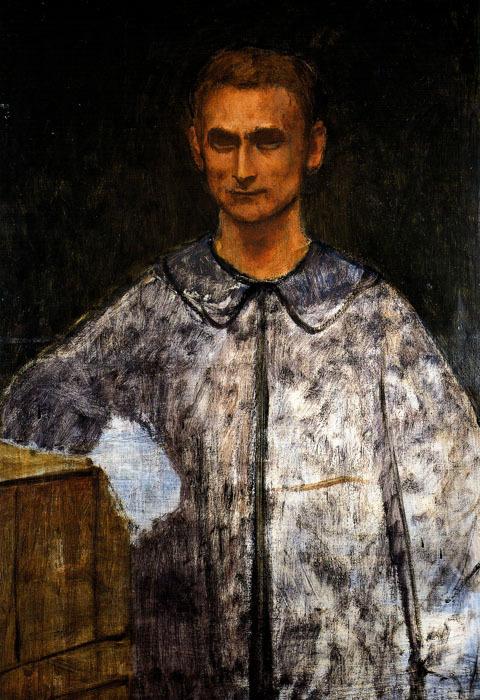 Balthus (Balthasar Klossovsky de Rola). Self-portrait