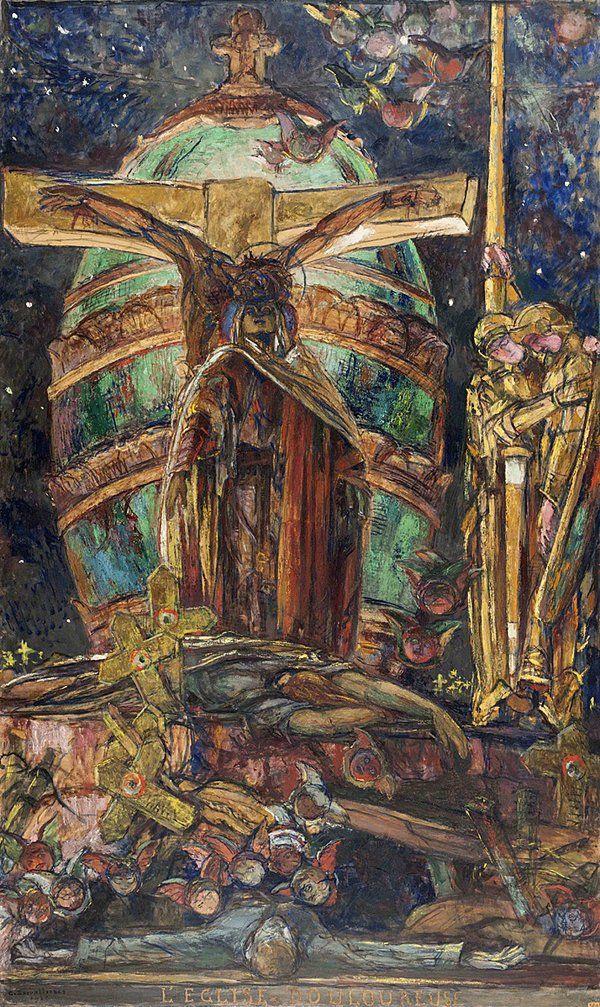 Жорж Девалье. Храм скорби