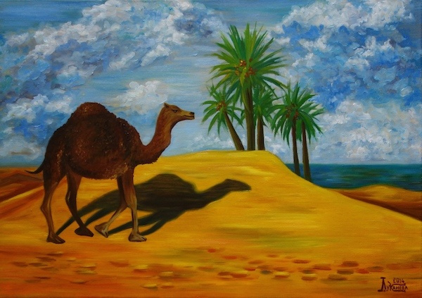 Larissa Lukaneva. A long way to the oasis