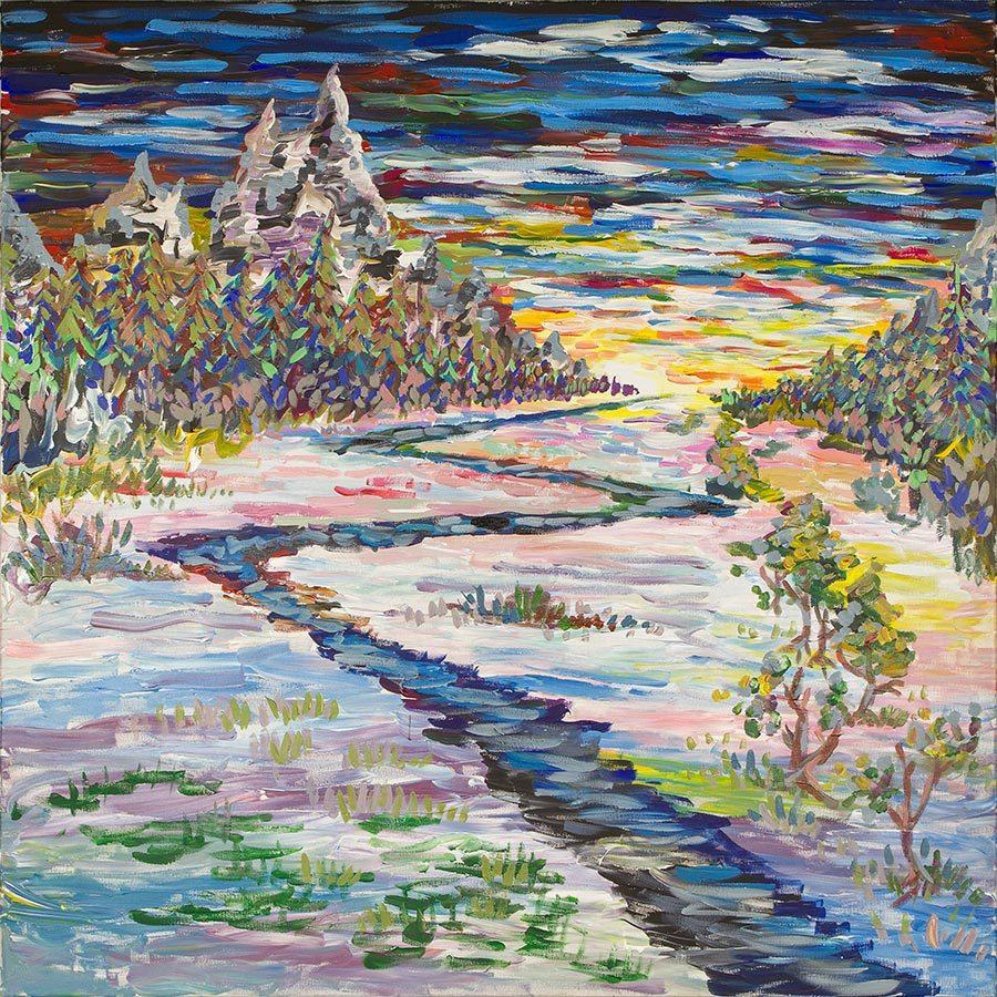 Евгений Морозов. Sunset