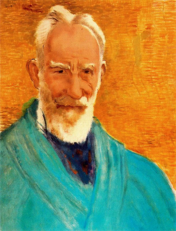 Evaristo Valle. Portrait of an old man