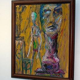 Metin Yaartrk. Sculptures of giacometti